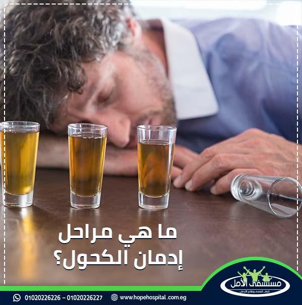 الأعراض الانسحابية للكحول