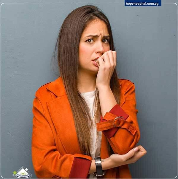 اعراض القلق النفسي عند النساء