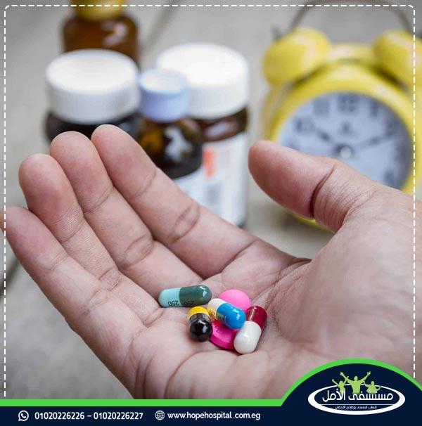 مدة ادوية علاج الادمان