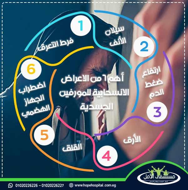أهم 6 من الاعراض الانسحابية للمورفين من الجسم