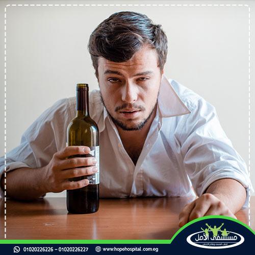 متى يصحى شارب الخمر